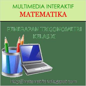 multimedia pembelajaran interaktif matematika bab fungsi trigonometri