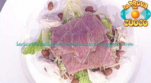 Prova del cuoco - Ingredienti e procedimento della ricetta Tataki di tonno con salsa tonnata di Gianfranco Pascucci