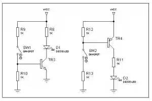 Simbol Transistor, fungsi transistor, transistor sebagai saklar, skematik transistor,