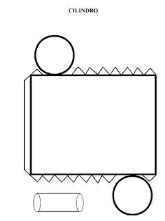 Desarrollos de cuerpos geométricos para imprimir