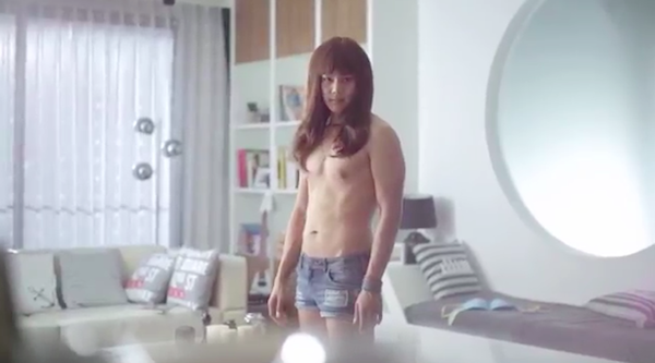A hilarious and effective commercial from Wacoal mood boost up bra