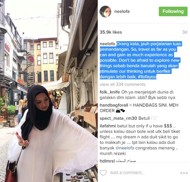 Neelofa DiKritik Pakai Baju Jarang, Sampai Nampak Bra Pink?..