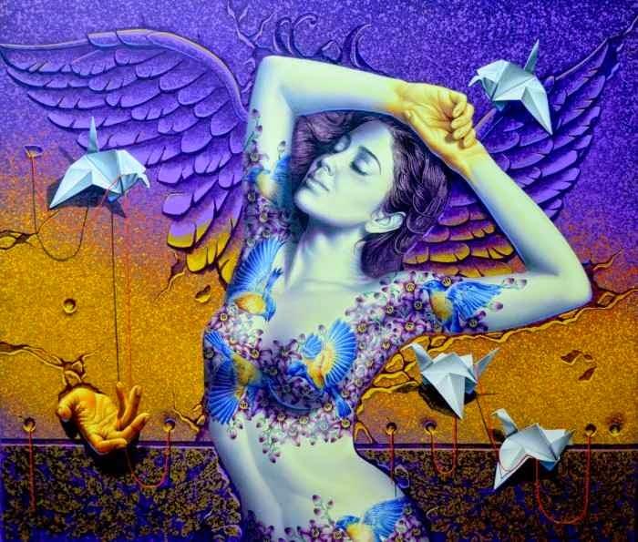 Индийский художник. Prashanta Nayak