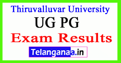 Thiruvalluvar University Exam Results