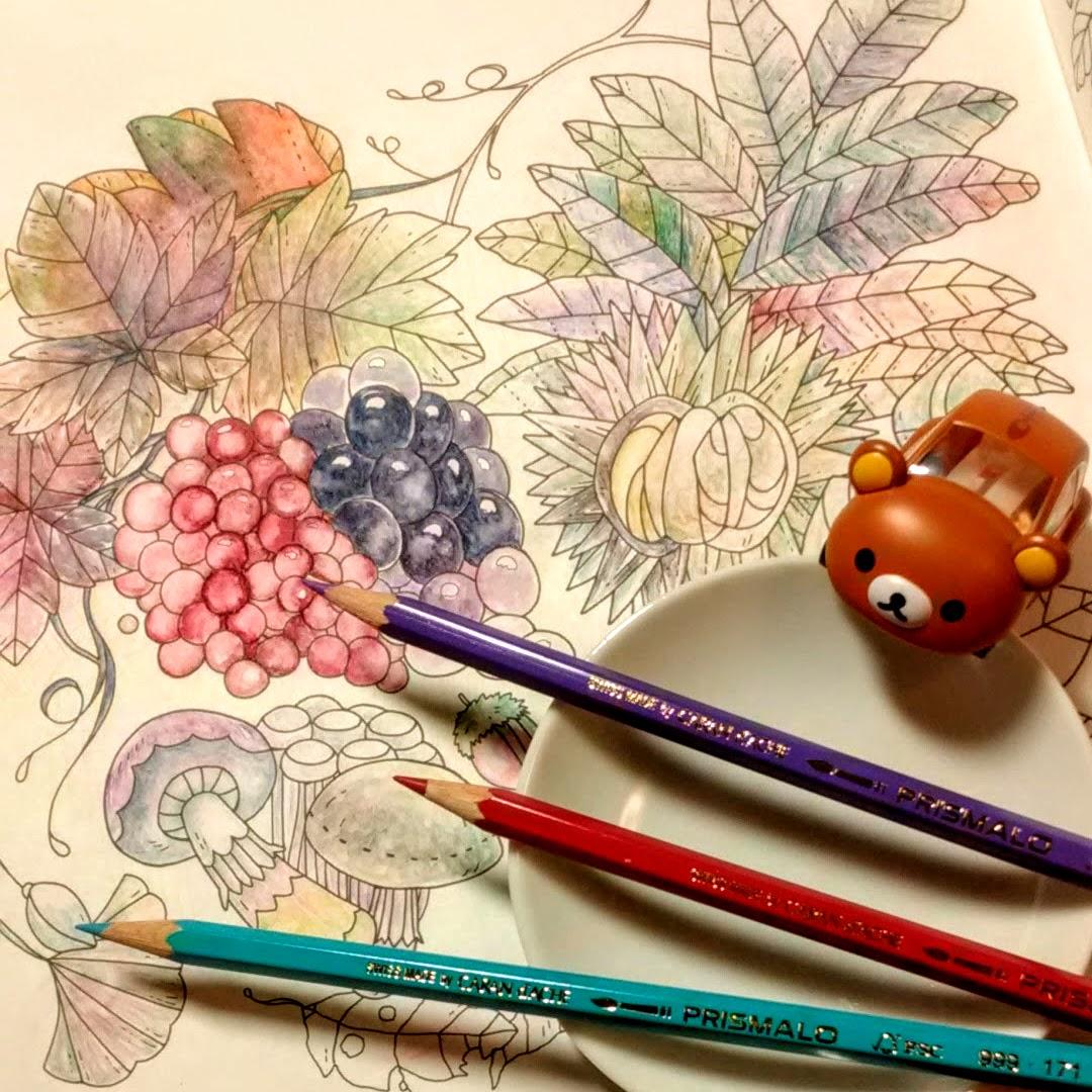画像1「秋の塗り絵」