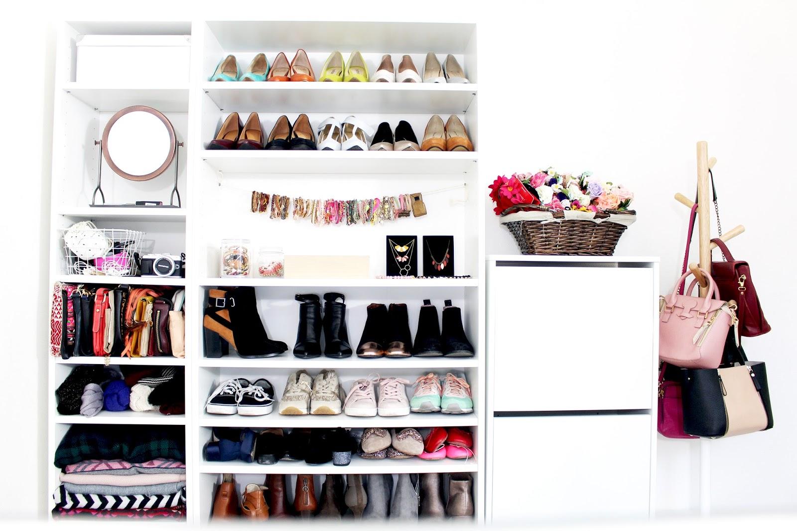Blog mode lifestyle et bonne humeur la penderie de chlo bienvenue dans ma - Ikea penderie dressing ...