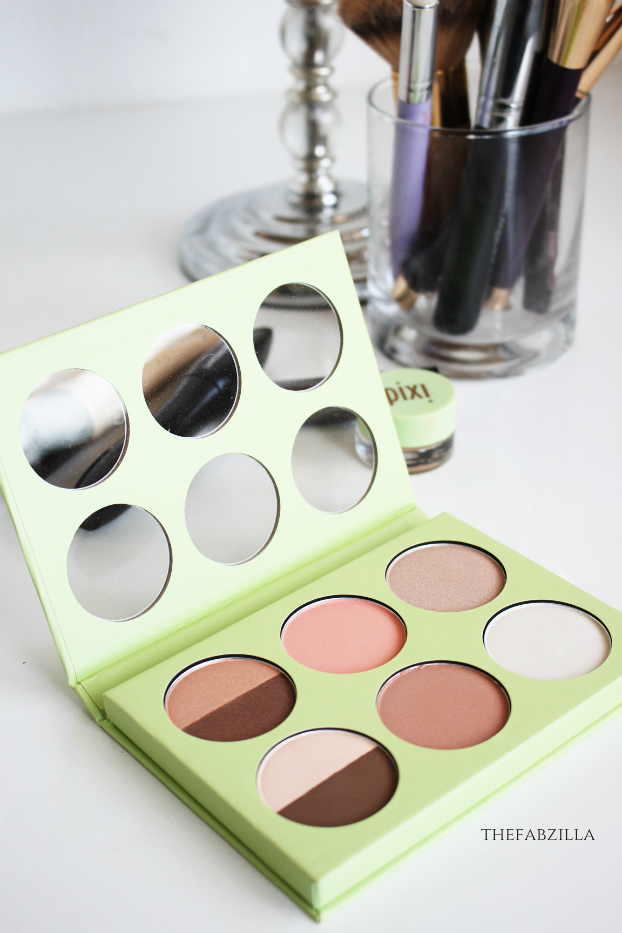 pixi book of beauty minimal makeup review swatch
