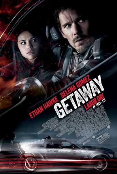 Poster Of Getaway 2013 720p Hindi BRRip Dual Audio Full Movie Download