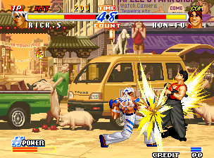 Real Bout Fatal Fury 2: The Newcomers+arcade+game+portable+download free