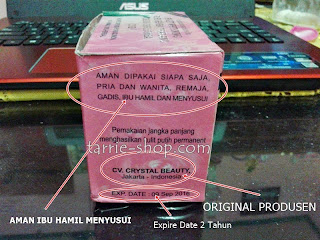 Cream Susu Domba Crystal Beauty