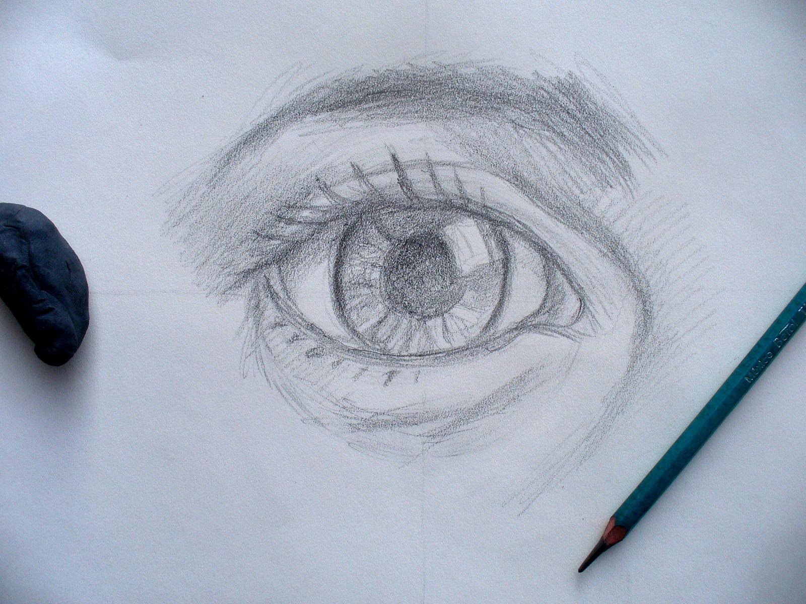 El Taller De Miguel Angel Como Dibujar El Ojo Humano