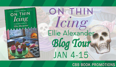 Excerpt, Giveaway, Review, On Thin Icing, Ellie Alexander