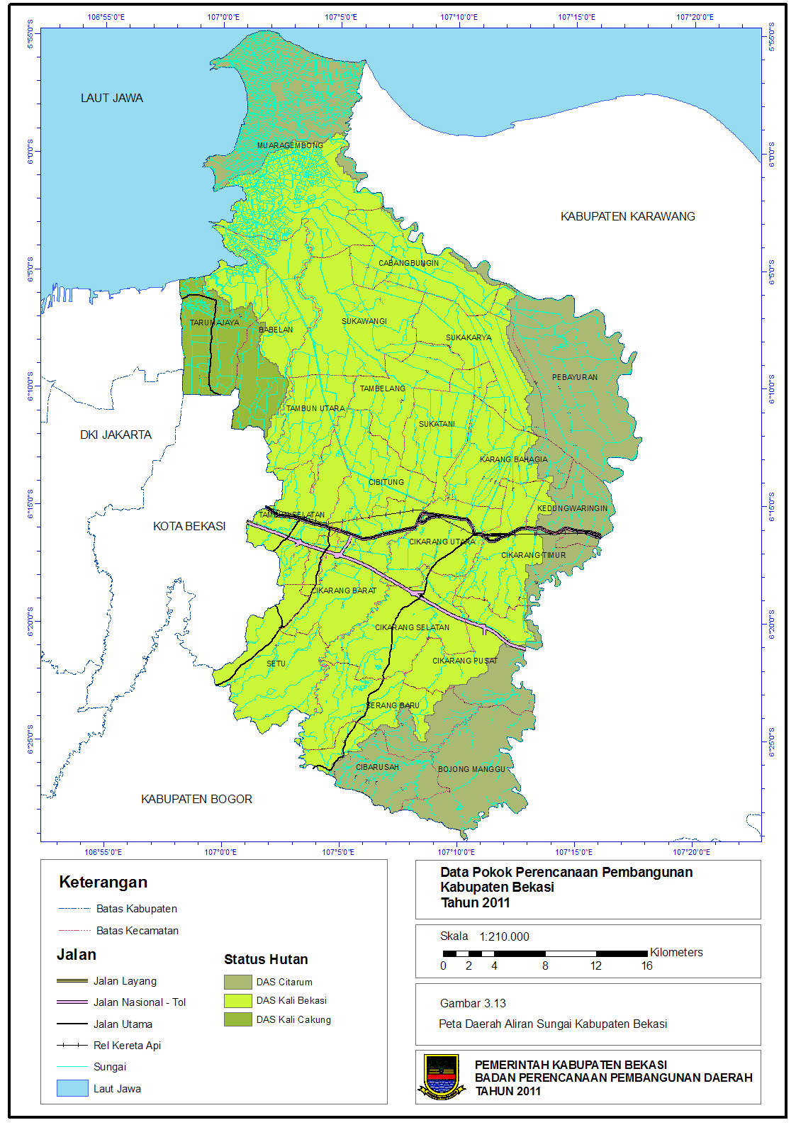 Bang Imam Berbagi: DAS Yang Melewati Kabupaten Bekasi