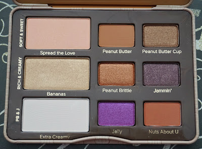 "Too Faced ""Peanut Butter and Jelly Eye Shadow Collection!"""