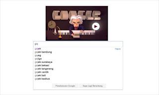 GoJek Search Google
