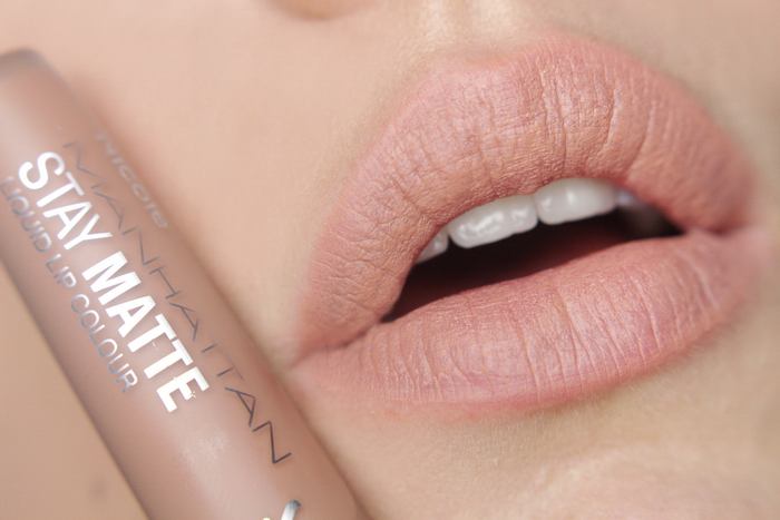 Manhattan Stay Matte Liquid Lip Colour 110 I Love Nude York