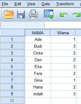 input data di spss statistik