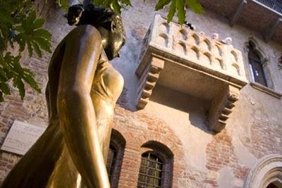 Patung Juliet Di Italia Diyakini Mudah Mendatangkan Jodoh