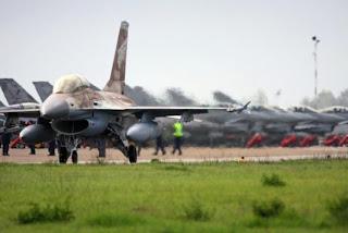 Ισραηλινά F 16 στη Λάρισα - Άσκηση με την Ελληνική Πολεμική Αεροπορία
