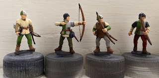 Perry Plastic archers Wars of the Roses 28mm speed painting SquadPainter Army Painter