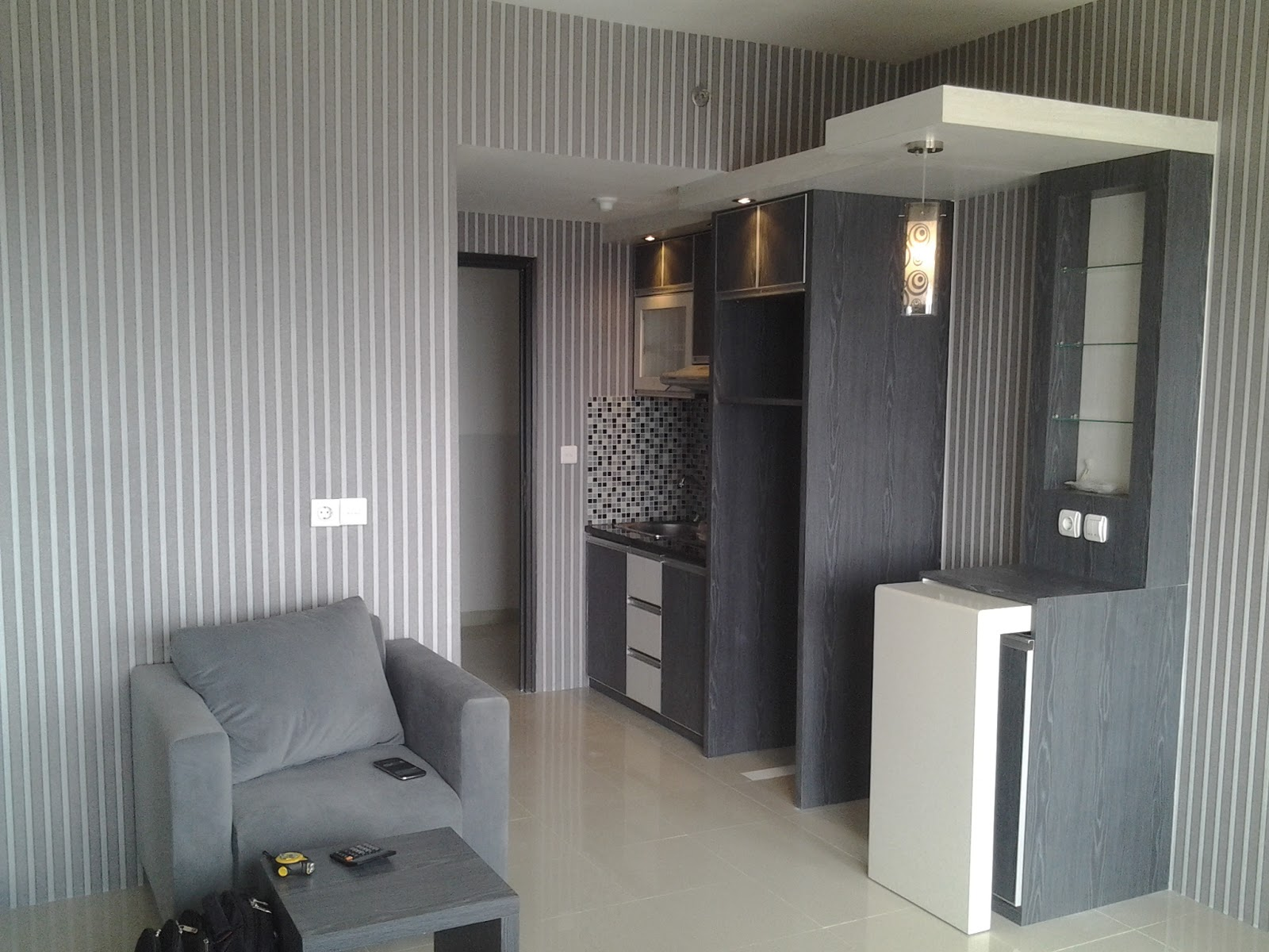 Interior Apartemen Type Studio Depok Margonda INFINITY INTERIOR