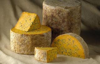 blue shropshire cheese
