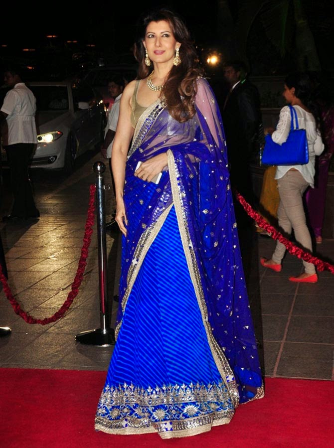 Sangeeta Bijlani, Pics from Arpita-Ayush's Wedding reception