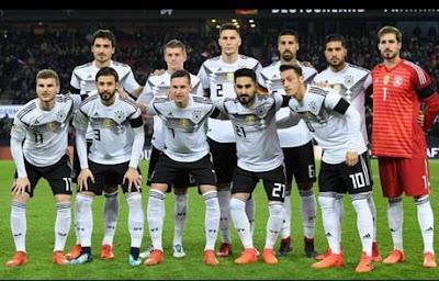 Daftar Pemain Timnas Jerman