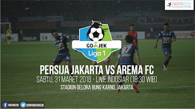 Live Streaming Persija vs Arema FC