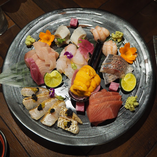 Cast iron Omakase Sashimi review singapore