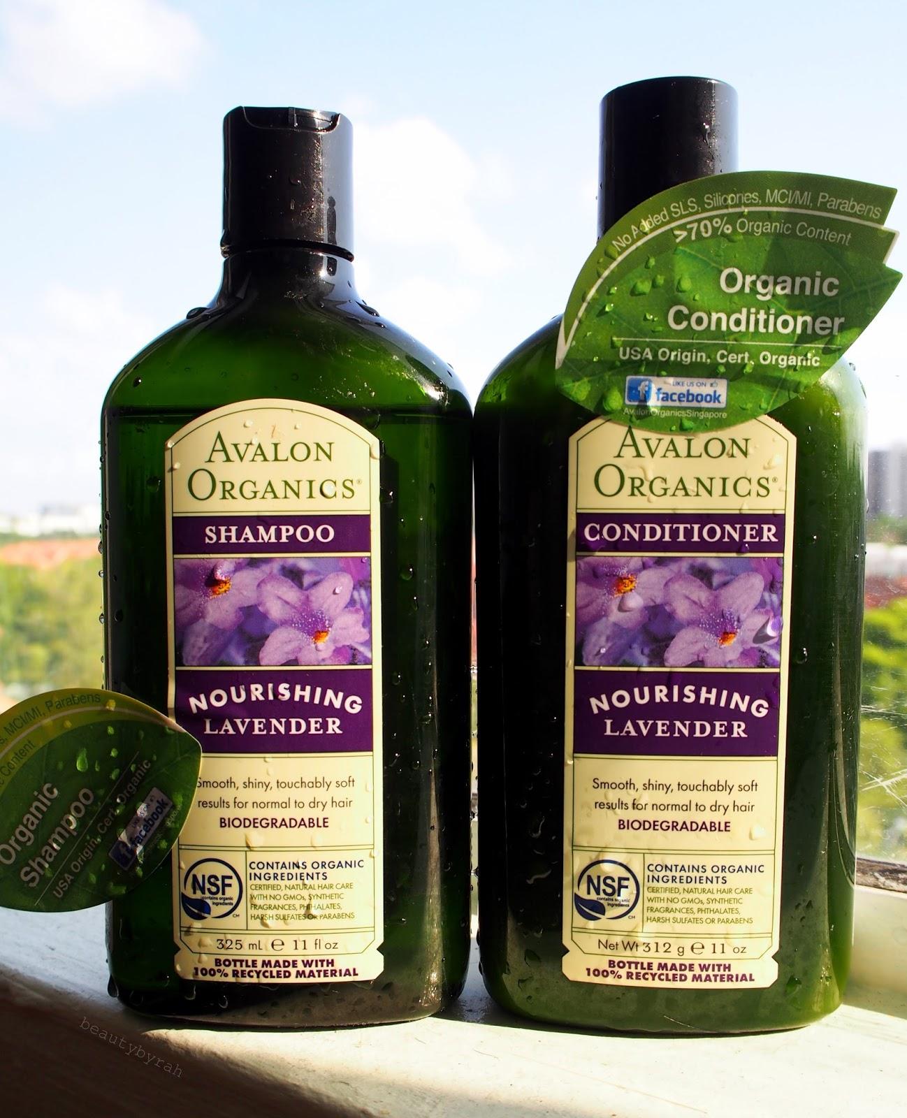 Avalon Organics Lavender Shampoo and Conditioner Review