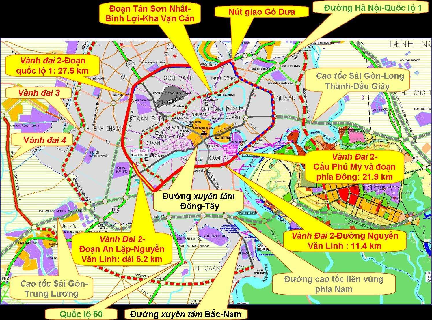 Tương quan các tuyến đường và sự dịch chuyển kinh tế đón đầu các khu đô thị vệ tinh cùng sự phát triển hạ tầng vùng ven đô