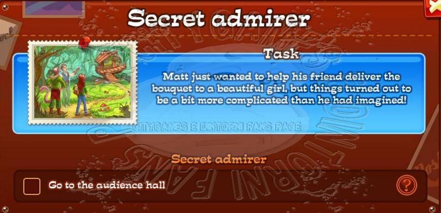 secret admirer blog
