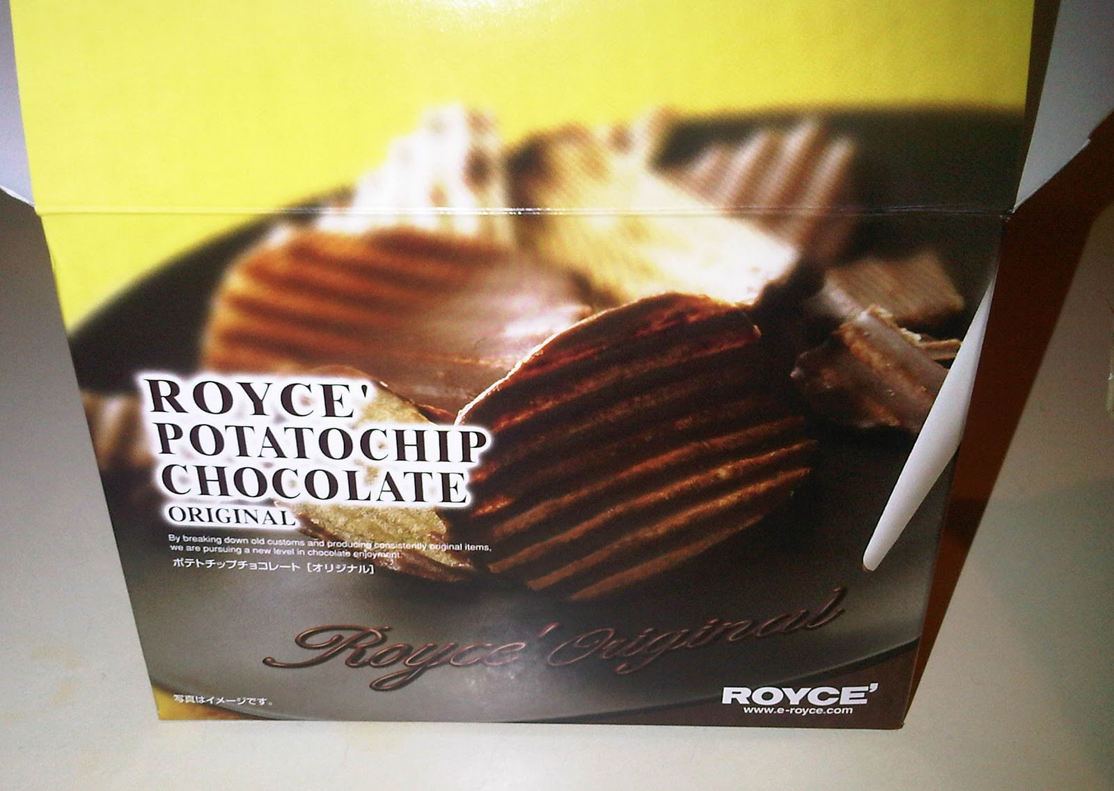 What Mary Loves: Pantry Surprise: Royce Potato Chip Chocolates