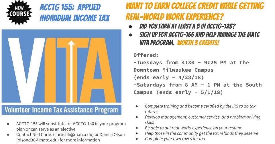 Matc Accounting Programs Vita