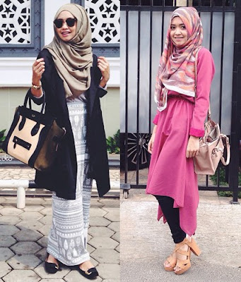 model hijab casual terbaru