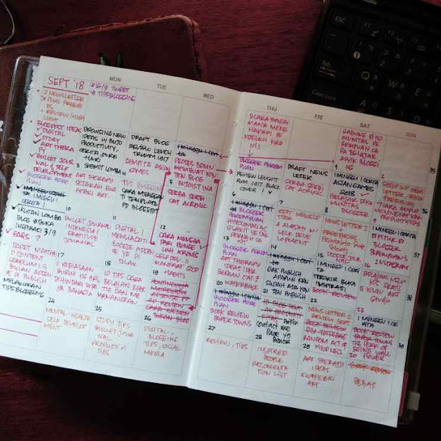 Bullet Journal For Blogger Ideas