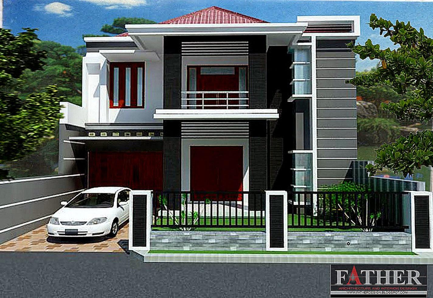 Unik Contoh Gambar Terbaik Tentang Desain Rumah Minimalis Type 36 108 Shreenad Home