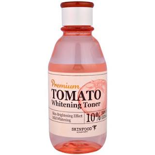 تونر تبييض بالطماطم
