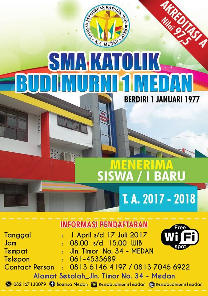 SMA Budi Murni 1 Medan