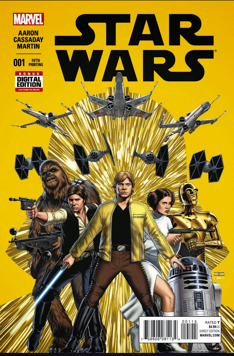 star wars #1 variant 5