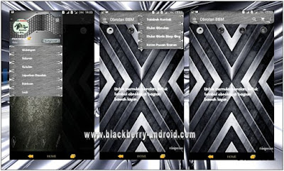 BBM MOD Metallic Silver Themes Based v2.12.0.9 APK