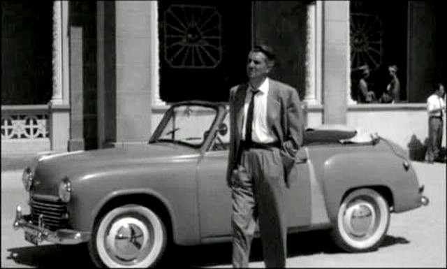 The Quiet American 1958 movieloversreviews.filminspector.com Hillman Convertible