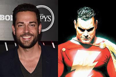 מ-Marvel ל-DC - זאקרי לוי יגלם את שאזאם ביקום הקולנועי של DC