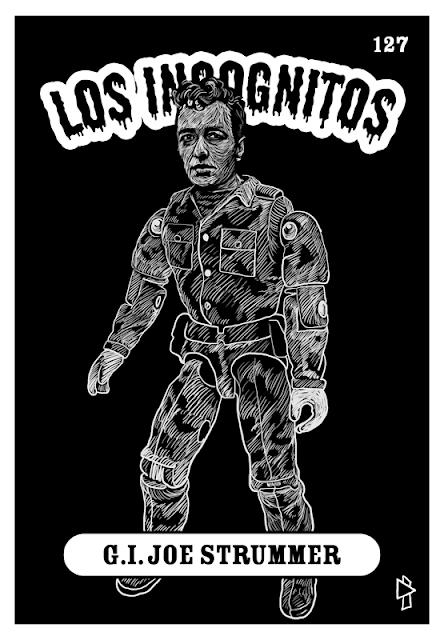 G.I. Joe Strummer Los Incognitos Gwen Tomahawk