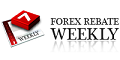Forex Rebate Weekly