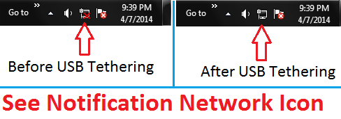 Network Notification Icon