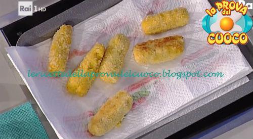 Crocchette di patate e zucca con maionese al prezzemolo ricetta Valbuzzi da Prova del Cuoco