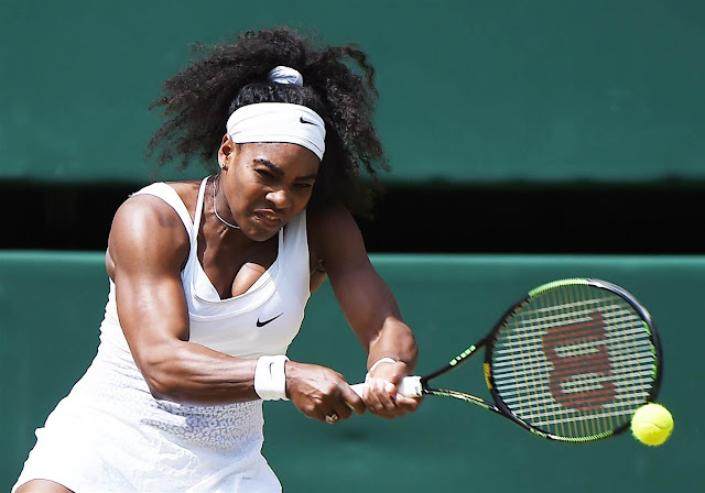 How A New Racket Made Serena Williams' Game Even Bigger