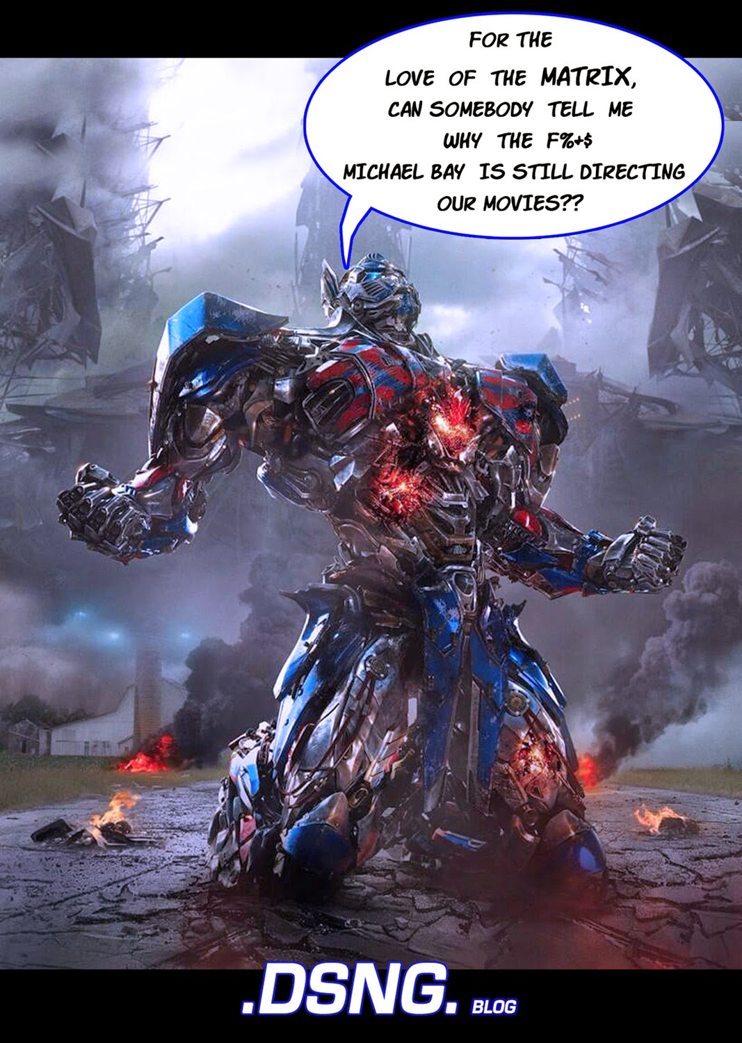 Transformers Age Of Extinction Poster Optimus Prime DSNG'S SCI FI MEGAVERS...